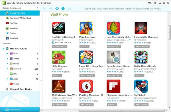 apps su Galaxy S4/S5